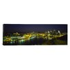 iCanvasArt Panoramic Three Rivers Area, Pennsylvania Photographic Print on Canvas