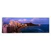 iCanvas Panoramic Buildings on the Beach, Waikiki Beach, Oahu, Honolulu, Hawaii Photographic Print on Canvas