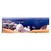 iCanvas Panoramic Santorini, Greece Photographic Print on Canvas