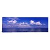 iCanvasArt Panoramic Clouds over the Sea, Tampa Bay, Gulf of Mexico, Anna Maria Island, Manatee County, Florida Photographic Print on Canvas