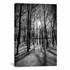 <strong>iCanvasArt</strong> Scenic Forest Ridges Moraine Photographic Print on Canvas