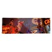 iCanvas Panoramic Fremont Experience Las Vegas Nevada Photographic Print on Canvas