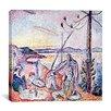 "iCanvas ""Luxe, Calme Et Volupte (1905)"" Canvas Wall Art by Henri Matisse"