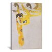 iCanvas 'Poesie 1902' by Gustav Klimt Painting Print on Canvas