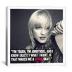 <strong>iCanvasArt</strong> Madonna Quote Canvas Wall Art