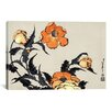iCanvas 'Poppies' by Katsushika Hokusai Graphic Art on Canvas