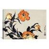 iCanvasArt 'Poppies' by Katsushika Hokusai Graphic Art on Canvas
