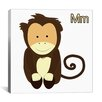 <strong>iCanvasArt</strong> Kids Art Monkey Graphics Canvas Wall Art