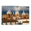 iCanvas Panoramic 'Immaculate Conception Cathedral, Cuenca, Ecuador' Photographic Print on Canvas