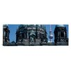 iCanvas Panoramic Berliner Dom, with Television Tower (Fernsehturm) in Distance, Berlin, Germany Photographic Print on Canvas