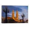 iCanvas Panoramic Grossmunster, Zurich, Switzerland Photographic Print on Canvas