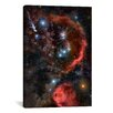 iCanvasArt Astronomy and Space Orion the Hunter Graphic Art on Canvas