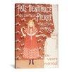 iCanvasArt 'Pate Dentifrice Du Docteur Pierre (Maitres De L'affiche)' by Boutet De Monvel Vintage Advertisement on Canvas