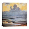 "iCanvas ""On the Shore, 1909"" Canvas Wall Art by Piet Mondrian"