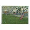 iCanvas 'Orchards in Blossom with View of Arles' by Vincent van Gogh Painting Print on Canvas