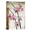 "<strong>iCanvasArt</strong> ""Orchids"" by Luz Graphics Graphic Art on Canvas"