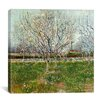 "iCanvas ""Orchard in Blossom (Plum Trees)"" Canvas Wall Art by Vincent van Gogh"