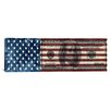 <strong>iCanvasArt</strong> One Hundred Dollar Bill, USA Flag Graphic Art on Canvas