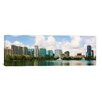 <strong>iCanvasArt</strong> Panoramic 'Orlando Skyline Cityscape' Photographic Print on Canvas
