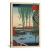 iCanvas Ando Hiroshige 'One Hundred Famous Views of Edo 62' by Utagawa Hiroshige l Graphic Art on Canvas