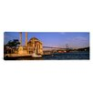 iCanvasArt Panoramic Ortakoy Mosque, Istanbul, Turkey Photographic Print on Canvas