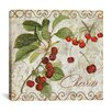 "<strong>iCanvasArt</strong> ""Pastoral Fruits I"" Canvas Wall Art  from Color Bakery"