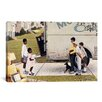 iCanvasArt 'Moving in (New Kids In The Neighborhood)' by Norman Rockwell Painting Print on Canvas
