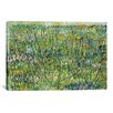iCanvasArt 'Patch of Grass' by Vincent Van Gogh Painting Print on Canvas