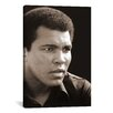 <strong>iCanvasArt</strong> 'Muhammad Ali at Deer Lake, PA, 1978' by Michael Gaffney Photographic Print on Canvas