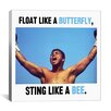 iCanvasArt Muhammad Ali Quote Canvas Wall Art