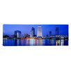 iCanvas Panoramic Night Jacksonville, Florida Photographic Print on Canvas