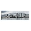 iCanvas Panoramic Photography Pittsburgh Skyline Cityscape Photographic Print on Canvas
