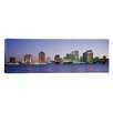 <strong>iCanvasArt</strong> Panoramic Night New Orleans, Louisiana Photographic Print on Canvas