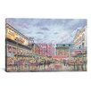 iCanvas 'Pike Place Market' by Stanton Manolakas Painting Print on Canvas
