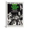 <strong>iCanvasArt</strong> Vintage Posters Night of The Living Dead (Movie) Vintage Advertisement on Canvas
