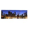 iCanvasArt Panoramic 'Lake Michigan, Chicago, Illinois' Photographic Print on Canvas