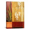 iCanvas Decorative Art 'Plant in a Vase' by Pablo Esteban Painting Print on Canvas