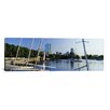 <strong>iCanvasArt</strong> Panoramic 'Charles River, Boston, Massachusetts' Photographic Print on Canvas