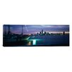iCanvasArt Panoramic Miami, Florida Photographic Print on Canvas