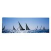 iCanvas Panoramic Farr 40's Race during Key West Race Week, Key West, Florida Photographic Print on Canvas