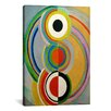 iCanvasArt 'Rythme 1938' by Sonia Delaunay Painting Print on Canvas