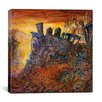 "iCanvas ""Rusty Train"" Canvas Wall Art by Bill Bell"