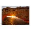 iCanvas 'Mesa Arch Beauty' by Dan Ballard Photographic Print on Canvas