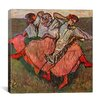 "<strong>iCanvasArt</strong> ""Russian Dancers"" Canvas Wall Art by Edgar Degas"
