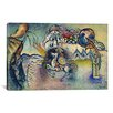 <strong>iCanvasArt</strong> 'Saint George Rider and the Dragon' by Wassily Kandinsky Painting Print on Canvas