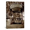 <strong>iCanvasArt</strong> Photography 'Metropolitain (Paris)' by Christopher Bliss Photographic Print on Canvas