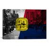 iCanvas Memphis, Tennessee Flag - Beale Street Grunge Graphic Art on Canvas