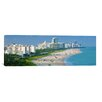iCanvas Panoramic 'Miami Skyline Cityscape' Photographic Print on Canvas
