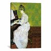 iCanvas 'Marguerite Gachet at the Piano' by Vincent Van Gogh Painting Print on Canvas