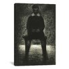 iCanvas 'Maurice Appert (Garconnet Assis) 1884' by Georges Seurat Graphic Art on Canvas